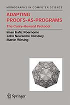 Adapting proofs-as-programs : the Curry-Howard protocol