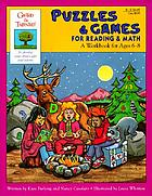 Puzzles & games for reading & math : a workbook for ages 6-8