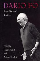 Dario Fo : stage, text, and tradition