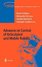 Advances in control of articulated and mobile robots