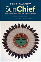 Sun Chief : the autobiography of a Hopi Indian