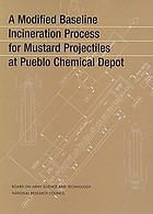 Modified Baseline Incineration Process for Mustard Projectiles at Pueblo Chemical Depot.