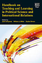 Handbook on teaching and learning in political science and international relations