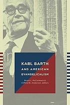Karl Barth and American evangelicalism