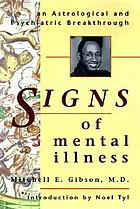 Signs of mental illness