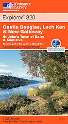 Castle Douglas, Lock Ken & New Galloway : St John's Town of Dalry & Moniaive