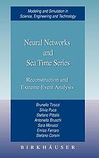 Neural networks and sea time series : reconstruction and extreme-event analysis