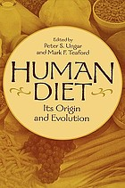 Human Diet: Its Origin and Evolution cover image