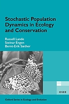 Stochastic populated dynamics in ecology and conservation