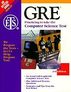 GRE : practicing to take the computer science test.