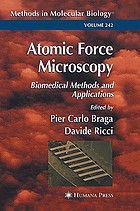 Atomic force microscopy : biomedical methods and applications