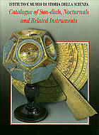 Catalogue of sun-dials, nocturals and related instruments