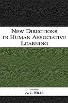 New directions in human associative learning
