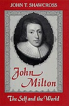 John Milton : the self and the world