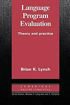 Language program evaluation : theory and practice