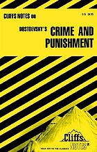 Cliffs notes : Dostoyevsky, Fyodor. Crime and punishment.