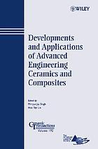 Developments and applications of advanced engineering ceramics and composites