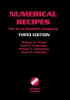 Numerical recipes : the art of scientific computing