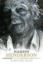 Hamish Henderson : a biography. Vol. 2, Poetry becomes people (1952-2002)