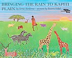 Bringing the rain to Kapiti Plain : a Nandi tale