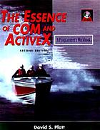 The essence of COM and ActiveX : a programmer's workbook