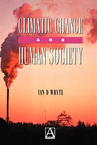 Climatic change and human society