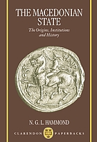 The Macedonian State : origins, institutions, and history