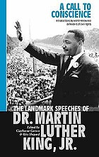 A call to conscience : the landmark speeches of Dr Martin Luther King Jr.