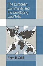 The European community and the developing countries