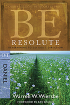 Be resolute : determining to go God's direction