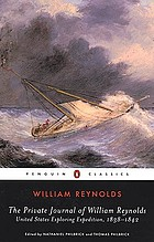 The private journal of William Reynolds : United States Exploring Expedition, 1838-1842