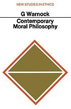 Contemporary moral philosophy