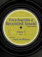 Encyclopedia of recorded sound. Vol. 1, A-L