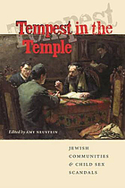 Tempest in the Temple: Jewish Communities and Child Sex Scandals cover image