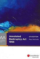 Bankruptcy Act 1966