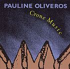 Crone music : [concert version of Music for Lear]