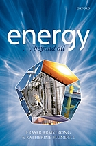 Energy-- beyond oil