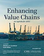 Enhancing value chains : an agenda for APEC
