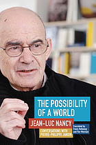 The possibility of a world : conversations with Pierre-Philippe Jandin