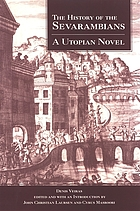 The history of the Sevarambians : a utopian novel