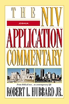 Joshua : NIV Application commentary from bibical text--to contemporary life