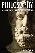 Philosophy : a guide to the reference literature