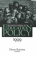 Brookings papers on education policy, 1999