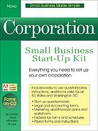 Corporation : small business start-up kit