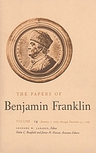 The papers of Benjamin Franklin. Vol. 14 January 1, through December 31, 1767.