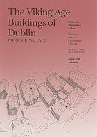 The Viking Age buildings of Dublin