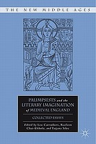 Palimpsests and the literary imagination of medieval England : collected essays