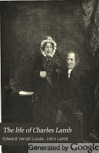 The life of Charles Lamb,