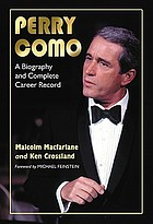 Perry Como : a biography and complete career record