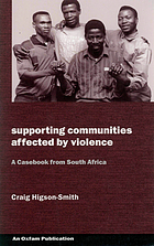 Supporting communities affected by violence : a casebook from South Africa